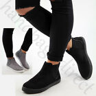New Casual High Top Sneakers Ankle Boots Trainers Comfy Flat Womens Shoes Sizes