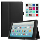 For New Amazon Fire HD 10 10.1 Inch Tablet 7th Gen 2017 Folio Case Cover Stand