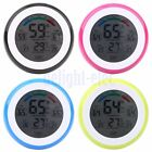 Touch Screen Digital LCD Temperature Humidity Meter Thermometer Alarm Clock DG