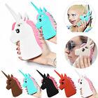 3D Cool Unicorn Soft Silicone Case For Galaxy S3 S4 S5 S6 S7 Edge Plus A3 A5 A7