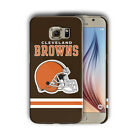 Cleveland Browns Samsung Galaxy S4 5 6 7 8 Edge Note 3 4 5 8 Plus Case Cover n02 $15.95 USD on eBay