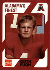 1989 Alabama Coke 580 Football Singles #251-500 - Your Choice GOTBASEBALLCARDS