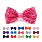 Shiny Sequined Banded Bow Tie (SMQBT)