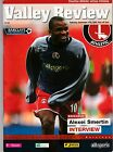 CHARLTON ATHLETIC HOME PROGRAMMES 2005/2006 UPDATED