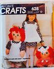RARE! Vtg Doll Sewing Pattern UC~YOU PICK! Raggedy Ann & Andy & So Much More!!