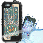 For iPhone 6 PLUS 5.5inch Waterproof TOUGH Case Green HamsaHand Y01021