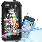 For iPhone 6 PLUS 5.5inch Waterproof TOUGH Case Keep Calm Dance Y01037