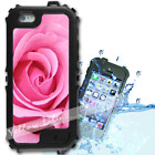 For iPhone 6 PLUS 5.5inch Waterproof TOUGH Case Pink Rose Y01019