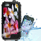 For iPhone 6 PLUS 5.5inch Waterproof TOUGH Case Frangipani Flowers Y01063