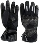 Weise Manx Black Mens Waterproof Motorcycle Gloves NEW RRP £54.99