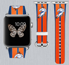 Denver Broncos Apple Watch Band 38 40 42 44 mm IWatch PU Leather Strap 252 on eBay