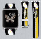 Pittsburgh Steelers Apple Watch Band 38 40 42 44 mm IWatch PU Leather Strap 257 on eBay