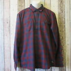 Jack & Jones Mens Slim Fit Checked Shirt, Wine, Size XL (3102351 loc 141) CA