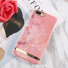 Luxury Marble Gold Bar Protertive Hard Cover Phone Case for iphone 8 6 6s 7 plus