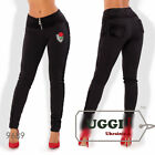 Stylish Sexy Warm Woman Pants Diving fabric with fleece- Regular size