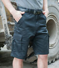 RTY PolyCotton Cargo Shorts Mens Workwear Multipocket small Sizes S-5XL