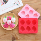 Strawb Mold Cake Mold Flexible Silicone Ice lattice ice cube tray DIY Tool