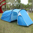 Waterproof 2-3 People Automatic Instant Up Family Tent Camping Hiking Tent Blue