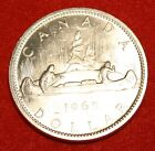 1965 CANADA DOLLAR AU+ 80% SILVER GREAT COLLECTOR COIN GIFT CAD09