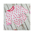 Blade & Rose White and Pink Spot Top