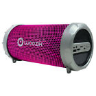 Portable Wireless Bluetooth Speaker Boombox Bass Stereo Cylinder SD FM Radio photo