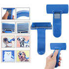 Pet Dog Cat Grooming Self Cleaning Slicker Brush Comb Tool Hair Fur Blue Color