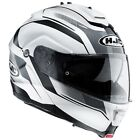 HJC IS Max 2 Elements White Flip Front Motorcycle Crash Helmet New RRP £159.99!!