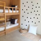 60 Triangle Wall Stickers Decal Childrens Room Kids Vinyl Art Decor - 3 Sizes