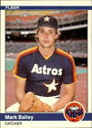 1984 Fleer Update Baseball #1-132 - Your Choice GOTBASEBALLCARDS