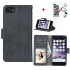 DKS Scrub PU Leather Magnetic Wallet Slot Stand Flip Case Cover For iPhone6 6S 7