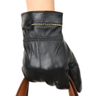 Men's Luxurious Leather Winter Super Warm Gloves/Mittens Driving Gloves