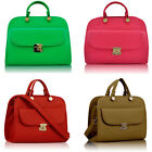 Womens Faux Leather Shoulder Bags Ladies Handbags Designer Style New Day Night