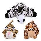 Pet Dog Funny Cartoon Animal Toys Puppy Cat Chew Attract Toys Squeaky Plush Toys