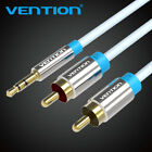 VENTION  3.5mm Stero Male Plug to Dual 2RCA Cable Cord Stereo PC Audio Splitter
