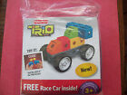 NEW FISHER-PICE   TRIO BRICKS -  COLOR RACE CAR SET
