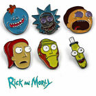 Rick and Morty Enamel Brooch Pin Pickle Rick Mr. Meeseek Chest Pin Gifts Hot