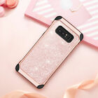 TPU Shockproof Bling Style Hybrid Hard Cover Protective Case For Samsung Phones