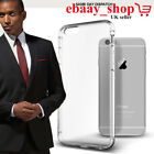 Shockproof TPU Clear Rubber Soft Bumper Case Phone Cover For iPhone 5 6 Plus New