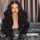 Capless Full Long Middle Part Fluffy Loose Wave Synthetic Wigs