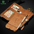 black samsung flip phone - Genuine Leather Flip Wallet Phone Case Cover for Samsung Galaxy iPhone X 8 7 6s