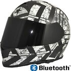 TORC T14 Mako Force Full Face Dual Visor Motorcycle Helmet with Bluetooth