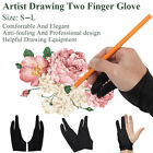 1Pc Two Finger Anti-fouling Glove For Drawing Sketching Painting & Pen Graphic