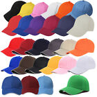 K9 Kids Plain Baseball Cap Girls Boys Junior Childrens Hat Summer