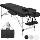 Table Banc Lit de massage pliante Cosmetique en Aluminium esthetique Sac 2 Zones