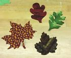 Quilt Die Cut Leaves Bag - 24 pieces - 7 Styles in 3 Assortments - Appliques!