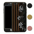 Orbs 360° Full Body Shockproof Case & Tempered Glass Cover For iPhone - T2664