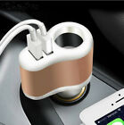 3 in 1 Car Chargers 3.1A  Car Cigarette Lighter for  iphone 6 7plus samsung gala