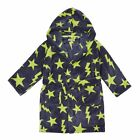 Bluezoo Kids Boys' Navy Star Dressing Gown From Debenhams