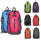 40L Travel Play Outdoor Backpack Hiking Waterproof Zipper Rucksack School Bag