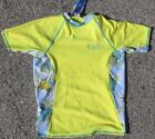 Wave Zone Rash Guard - Yellow - Hawaiian